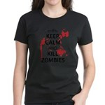 Keep Calm Women's Dark T-Shirt