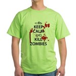 Keep Calm Green T-Shirt