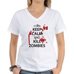 Keep Calm Women's V-Neck T-Shirt