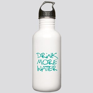 Drink More Water_Blue2 Stainless Water Bottle 1.0L