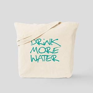 Drink More Water_Blue2 Tote Bag