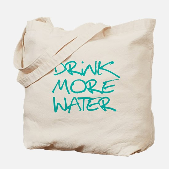 Drink More Water_Blue2 Tote Bag
