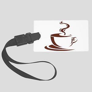 coffee Large Luggage Tag