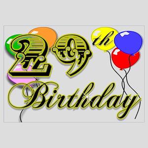 Happy 29th Birthday Coasters Home Decor