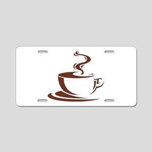 coffee Aluminum License Plate
