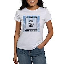Personalized Sports Women's Classic White T-Shirt