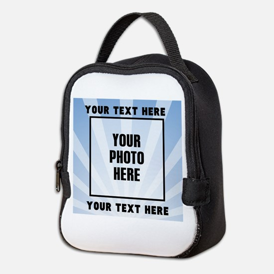 Personalized Sports Neoprene Lunch Bag