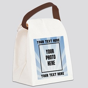 Personalized Sports Canvas Lunch Bag