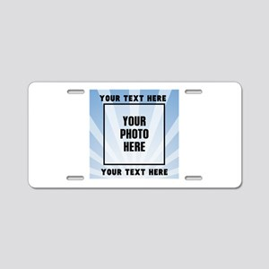 Personalized Sports Aluminum License Plate