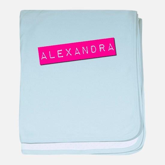 Alexandra Punchtape baby blanket