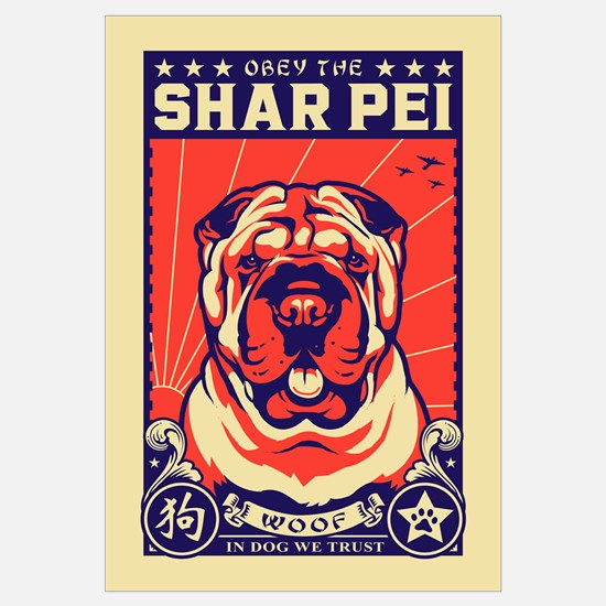 Obey the Shar Pei!
