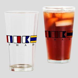 nautical thad Drinking Glass