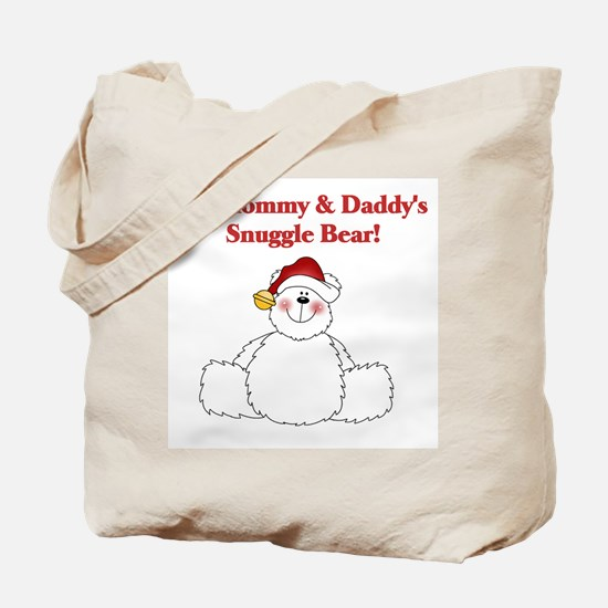 Mommy and Daddy's Snuggle Bear Tote Bag
