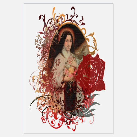 Cute Saint therese Wall Art