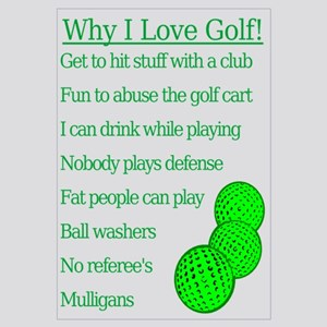 Why I Love Golf