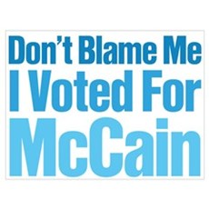 Don't Blame Me Poster