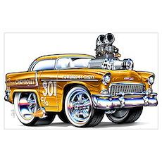 1955 Chevrolet Poster