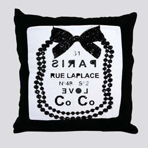 LOVE COCO Throw Pillow
