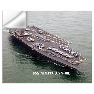 USS NIMITZ Wall Decal