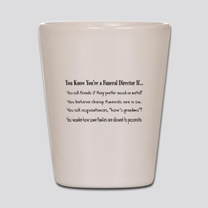 Funeral Director/Mortician Shot Glass