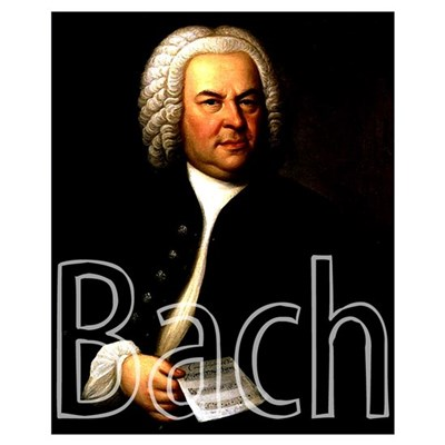 Bach Canvas Art