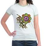 Snake bonji Jr. Ringer T-Shirt