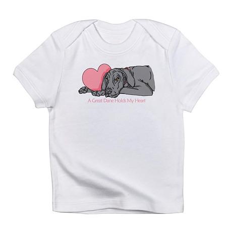 Black UC Holds Heart Infant T-Shirt
