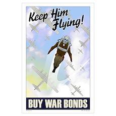 The Bombardier War Bonds Poster