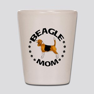 Beagle Mom Shot Glass