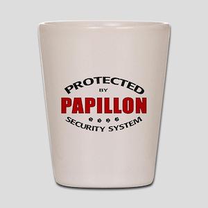 Papillon Security Shot Glass