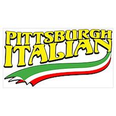 Pittsburgh Italian Pride Poster