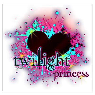 Twilight Princess Heart Poster