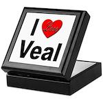 I Love Veal Keepsake Box