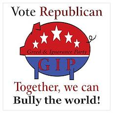 Bully Pig Poster