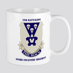 DUI - 2nd Battalion - 503rd Infantry Regiment with