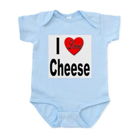 I Love Cheese Infant Creeper