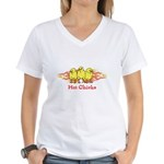 Hot Chicks Women's V-Neck T-Shirt