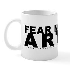 FEAR NO ART Mug - Small