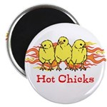 Hot Chicks Magnet