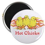 Hot Chicks Magnet