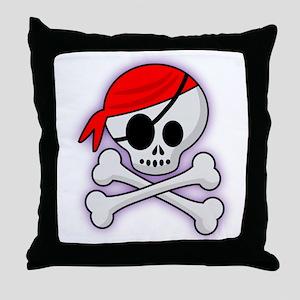 Joliest Roger Throw Pillow