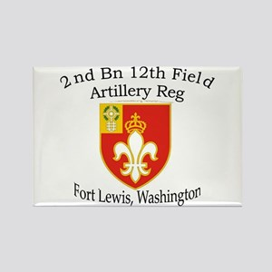 2nd Bn 12th FA Rectangle Magnet