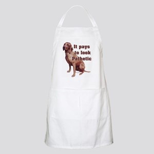 pathetic redbone coonhound BBQ Apron