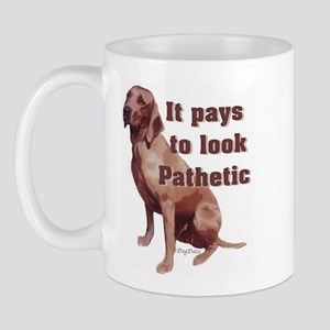 pathetic redbone coonhound Mug