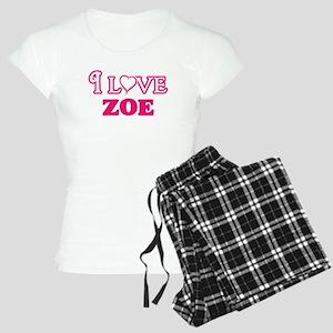I Love Zoe Pajamas