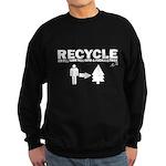 Recycle or Die Sweatshirt (dark)