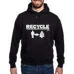Recycle or Die Hoodie (dark)