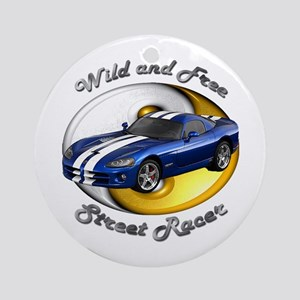 Dodge Viper Ornament (Round)