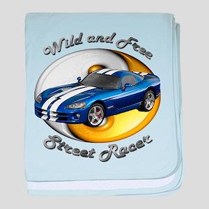 Dodge Viper baby blanket