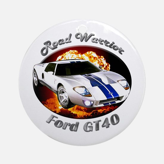 Ford GT40 Ornament (Round)